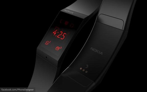 """Weiteres Konzept zur """"Nokia Smartwatch"""""""