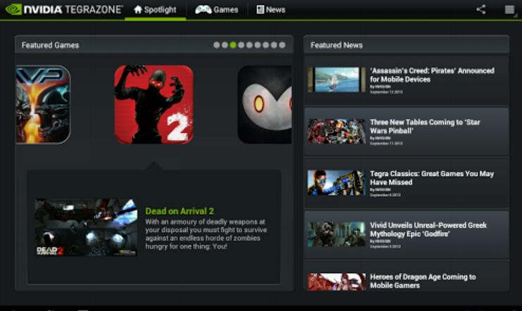 "Nvidia öffnet ""Tegrazone"" auch für andere Geräte"