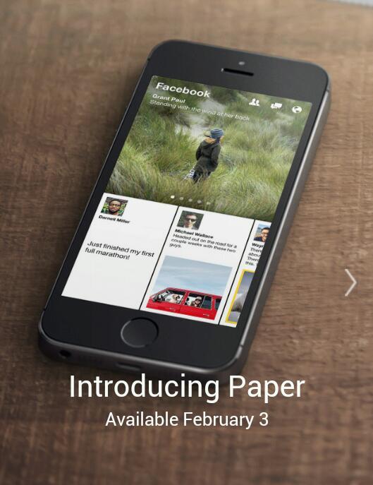 Facebook Paper offiziell vorgestellt