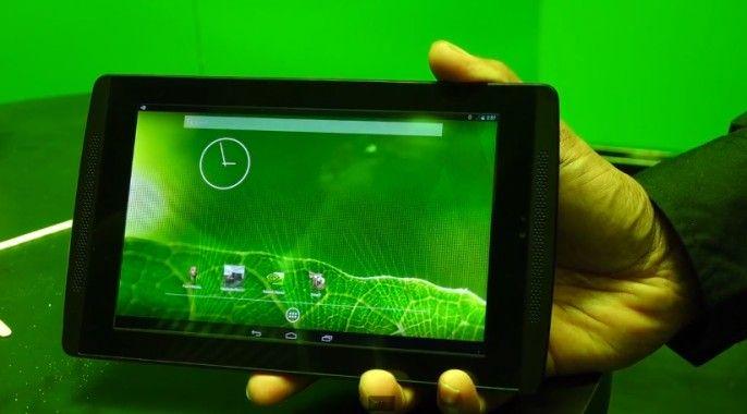 Referenz-Tablet mit Tegra K1im Video