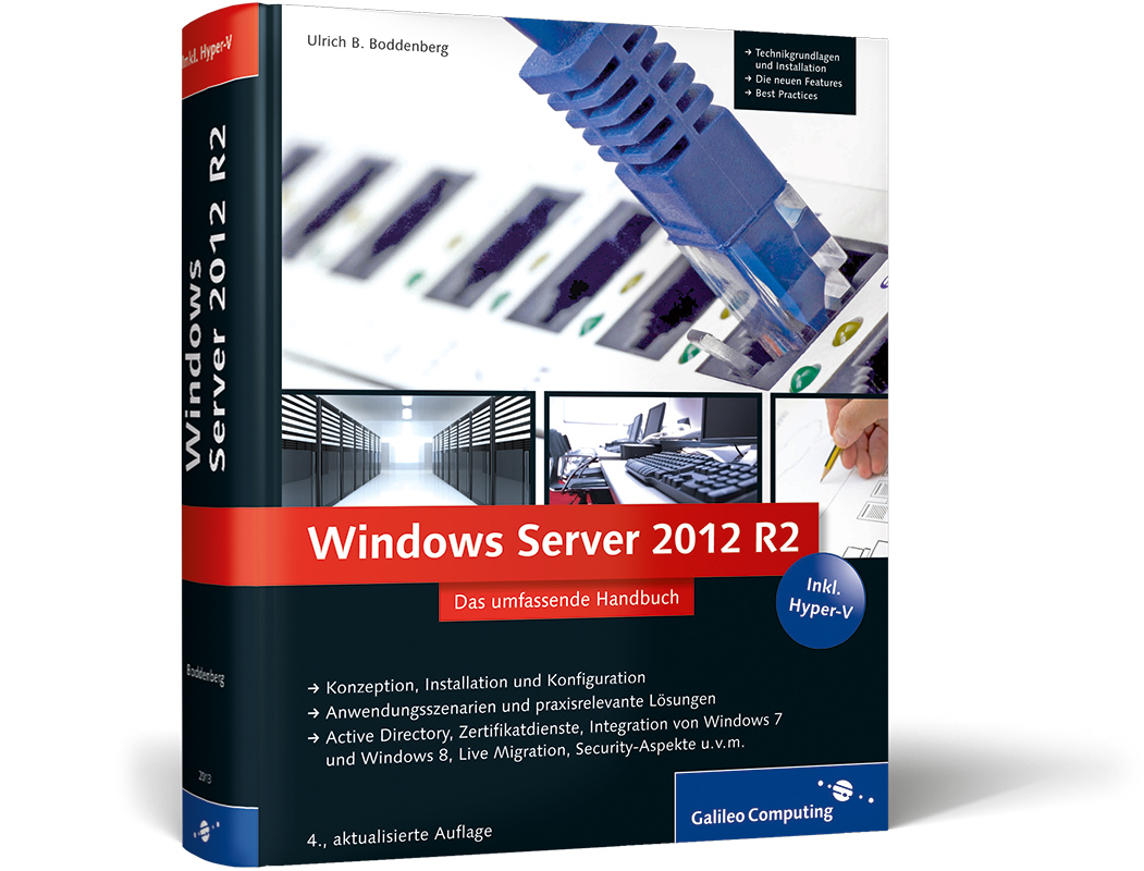 "Kostenloses eBook ""Windows Server 2012 R2"" bei Galileo Computing"