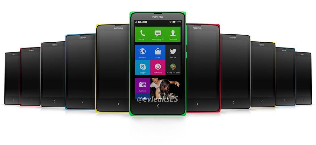 """Weiteres Bild vom """"Nokia Normandy"""" zeigt Metro-Startblidschirm des """"Androiden"""""""
