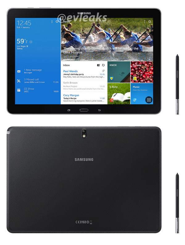 [CES 2014] Spezifikationen der kommenden Samsung-Tablets
