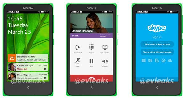 """Oberfläche des """"Nokia Normandy"""" zeigt sich"""