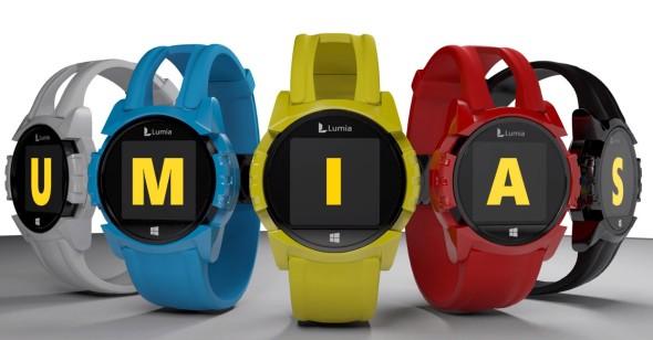 Design-Konzept einer möglichen Lumia Smartwatch von Nokia