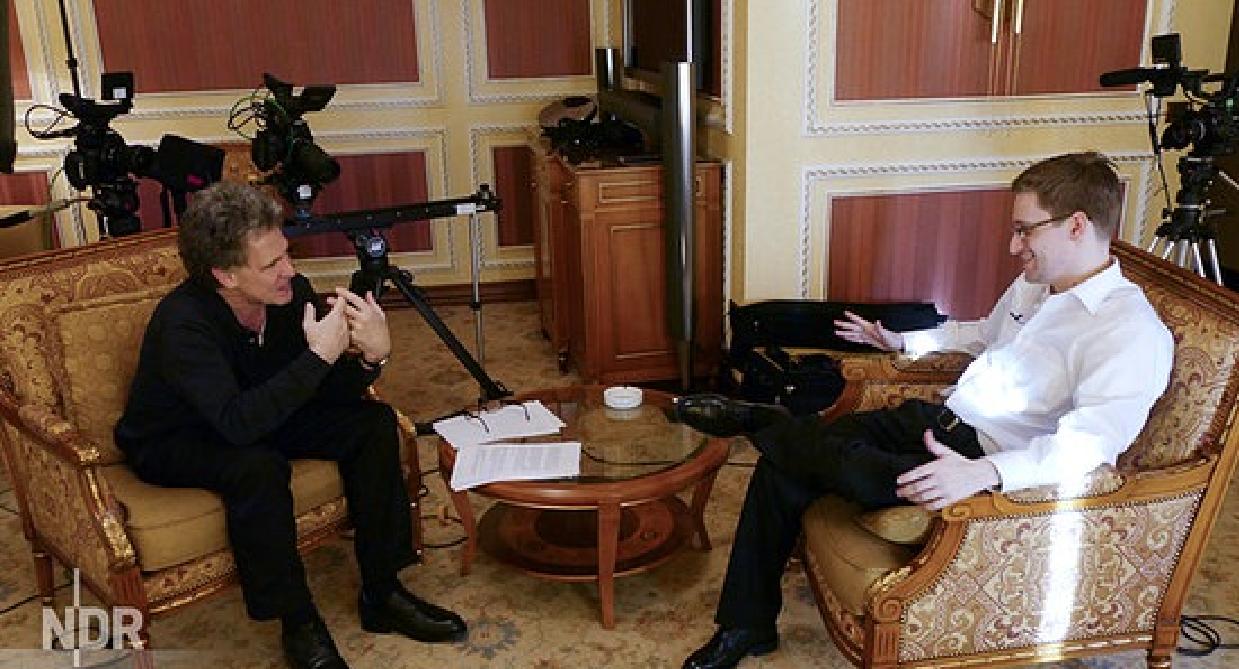 ARD-Interview mit Edward Snowden nachträglich anschauen