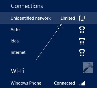 [Fix] Netzwerk: Internetzugang begrenzt  unter Windows 8.1 und Windows 10 beheben