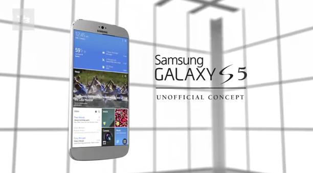 """Weiteres Konzept zum """"Samsung Galaxy S5"""""""