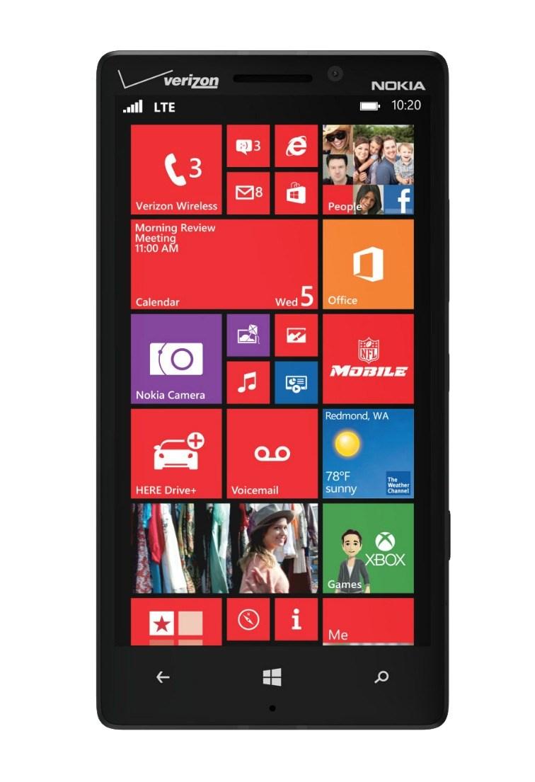 """Technische Daten & Pressebilder des Nokia Lumia """"Icon"""" (Lumia 929) kurzzeitig bei Verizon online"""
