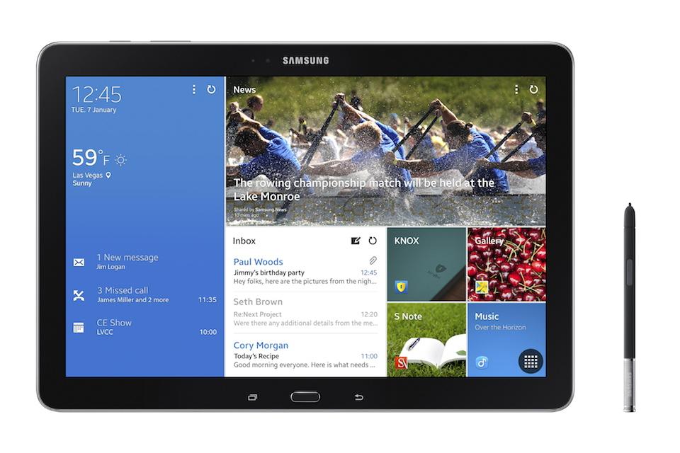"[CES 2014] Samsung stellt ""Galaxy NotePRO 12.2"", ""Galaxy TabPRO 12.2"", ""Galaxy TabPRO 10.1"" und ""Galaxy TabPRO 8.4"" offiziell vor"