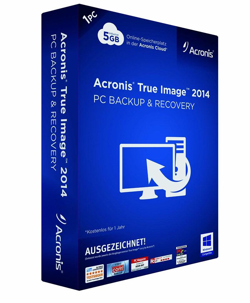 Acronis bietet kostenloses Upgrade von True Image 2013 auf 2014 für Windows 8/ 8.1 User an