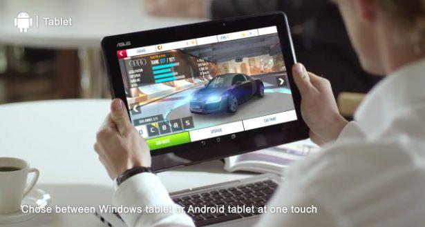 [CES 2014] Asus Transformer Book Duet mit Dual OS zeigt sich im Video