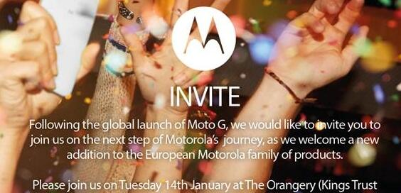 Motorola mit Event am 14. Januar – Neues Smartphone kommt