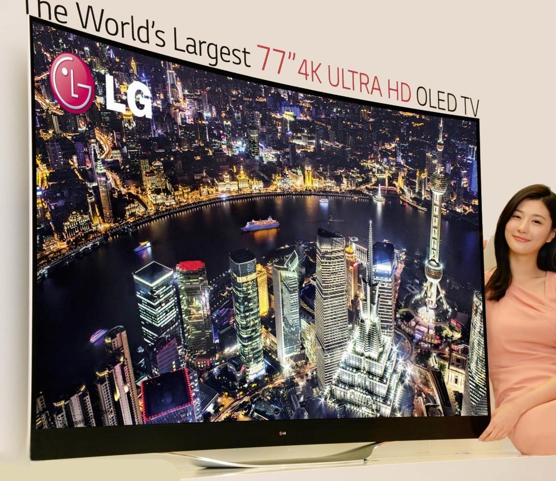 [CES 2014] LG bringt 77 Zoll Curved-TV mit UltraHD und weitere Geräte mit