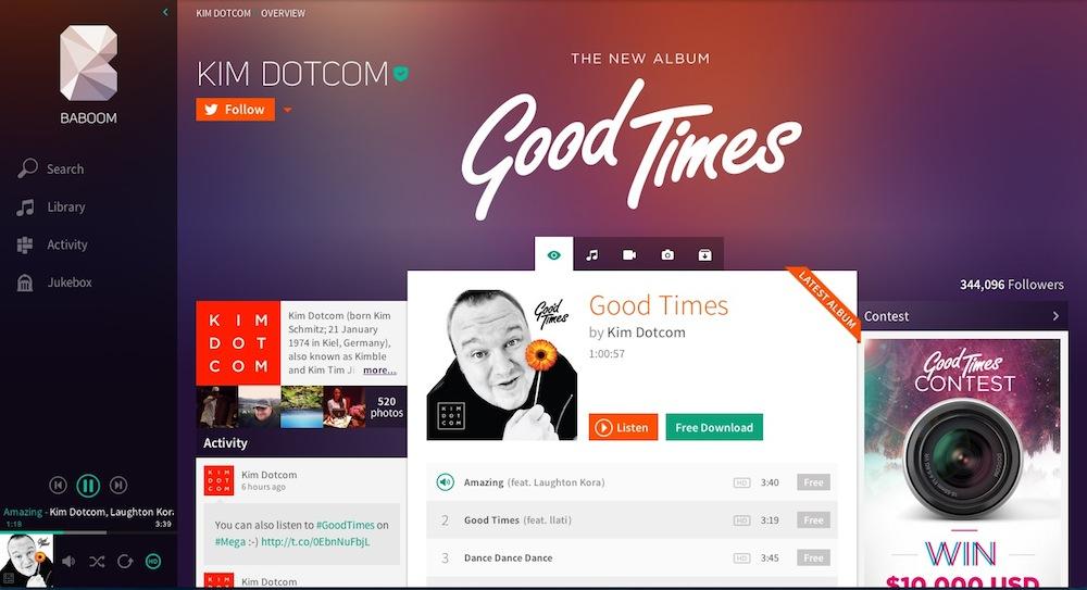 """Musik-Streaming-Dienst """"Baboom"""" als Vorschau bereits online"""