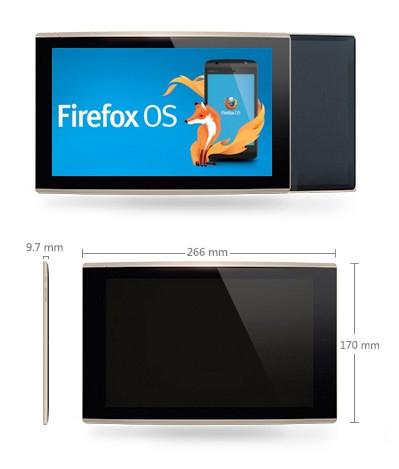 Erstes Tablet mit Firefox OS steht in den Startlöchern
