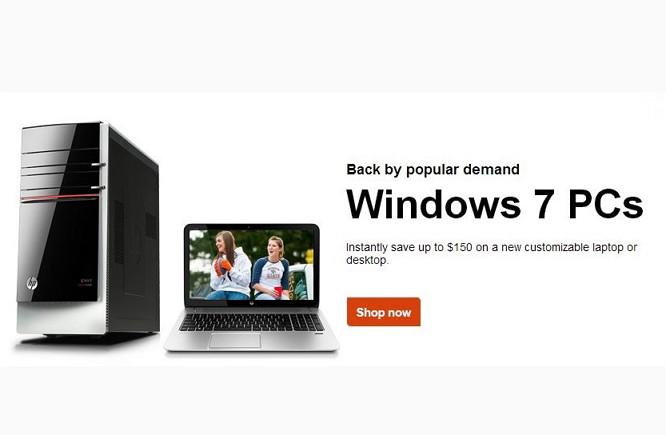 HP auch weiterhin mit Windows 8.x Geräten