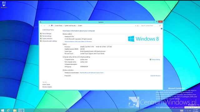 "Weiterer Screenshot vom ""Spring Update"" für Windows 8.1 geleakt"