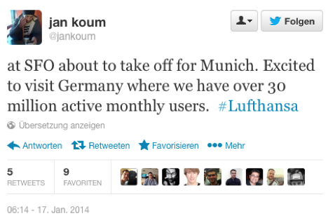 WhatsApp hat 30 Millionen aktive Nutzer in Deutschland