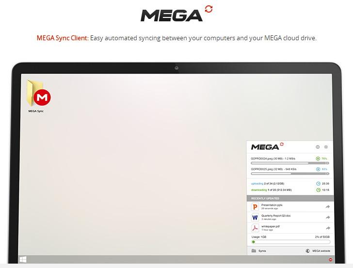 Kurztipp: Mega Sync Client in finaler Version für Windows erschienen