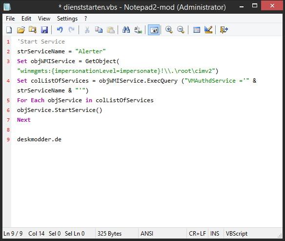 Notepad2-Mod Ein flexibler Editor für Windows