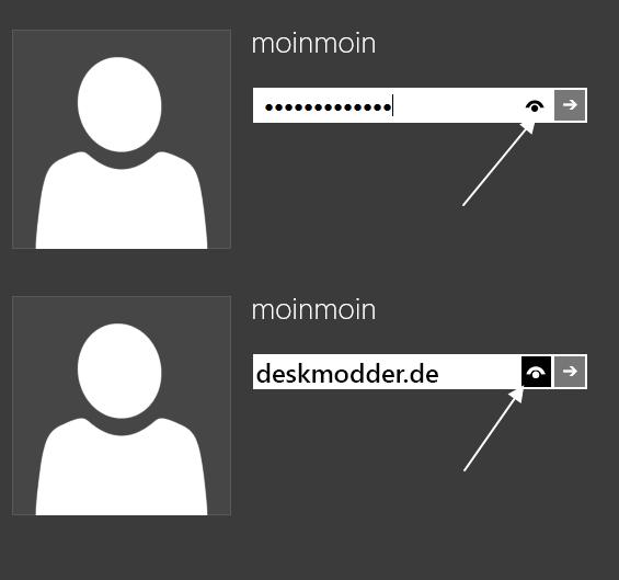 Passwörter in Klartext im IE und Windows 8.1 deaktivieren