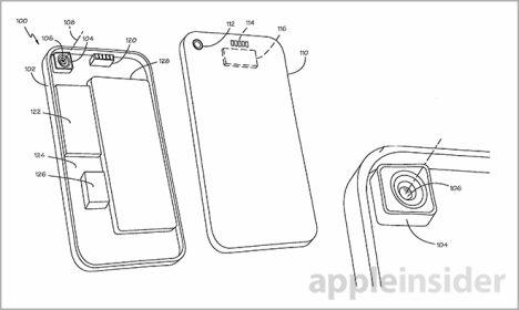 Apple auch mit Ansätzen für ein modulares Smartphone