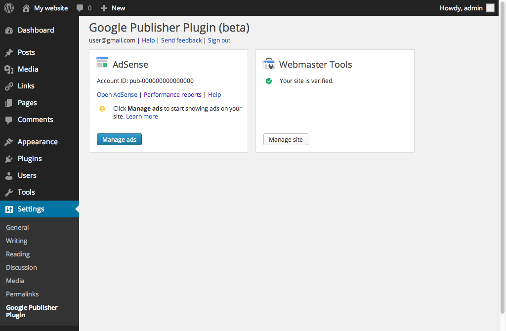 Google Publisher Plugin für WordPress erschienen