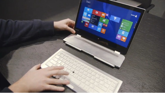 Toshiba zeigt ein 5 in 1 PC-Konzept (Video)