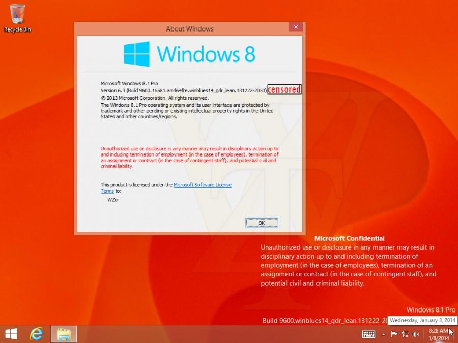Windows 8.1 2014 Rollup Update erscheint über Windows Update