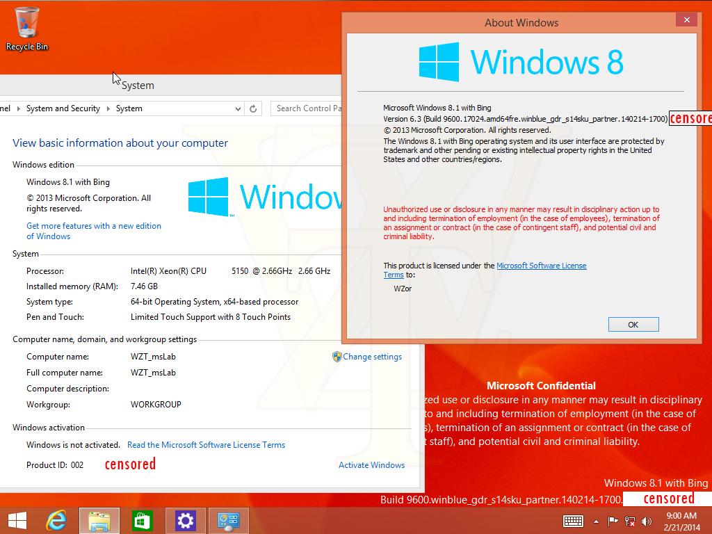 Microsoft Partner Build Connected Core mit Bing Edition Windows 8.1