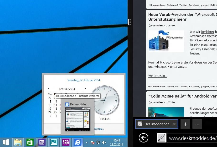 Connected Core mit Bing und das GDR 1 Escrow Update einmal angeschaut