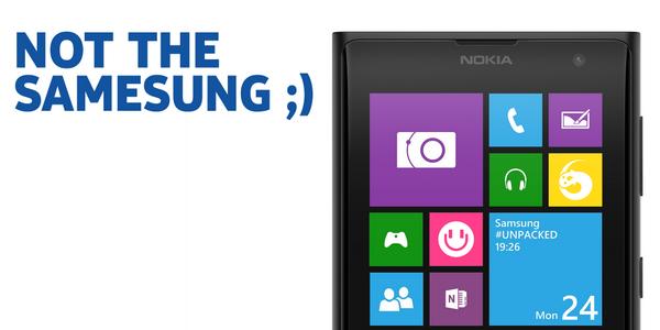 Auch Nokia stichelt nach Samsung Galaxy S5 Präsentation