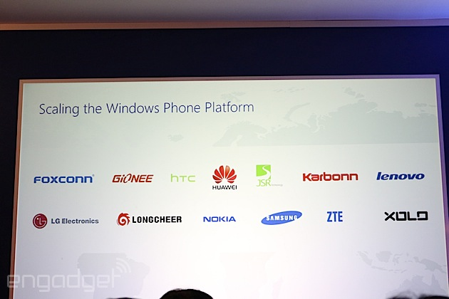 Microsoft kündigt neue Windows Phone Hardware-Partner an