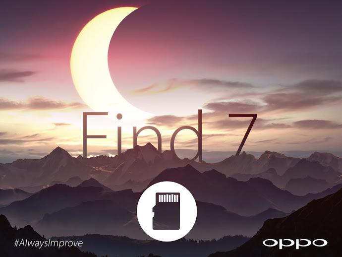 Oppo Find 7 wird MicroSD-Slot besitzen