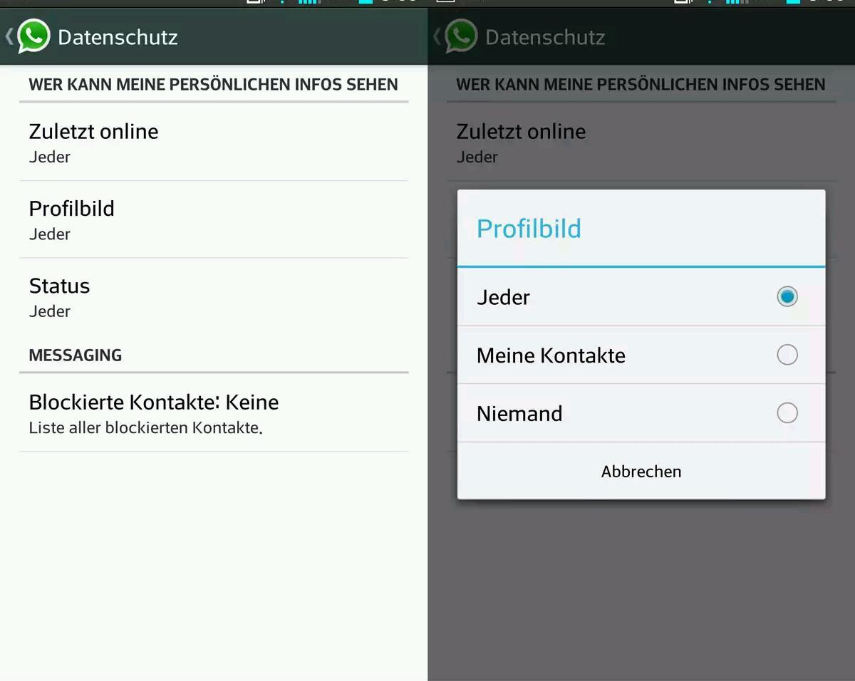 Neue WhatsApp Version für Android mit erweiterten Privatsphären-Einstellungen