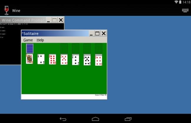 """""""Wine"""" machts möglich – Windows Klassiker """"Solitär"""" auf Android spielen"""