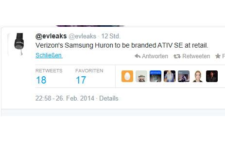 Samsungs neues Windows Phone bekommt einen Namen