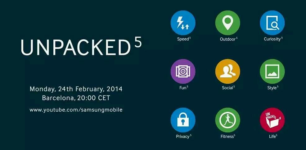 """Neuer Teaser von Samsung gibt Einblick auf kommende Funktionen des """"Galaxy S5"""""""