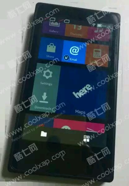 """Bilder vom """"Nokia X"""" geleakt"""
