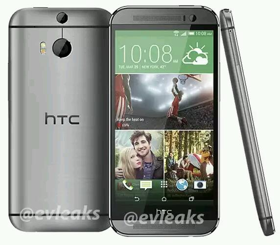 Bilder vom neuen HTC One (2014) geleakt