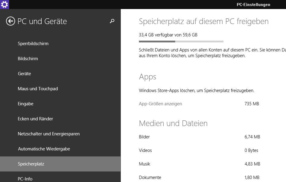 Disk Footprint Tool -dfp- in Windows 8.1 GDR 1