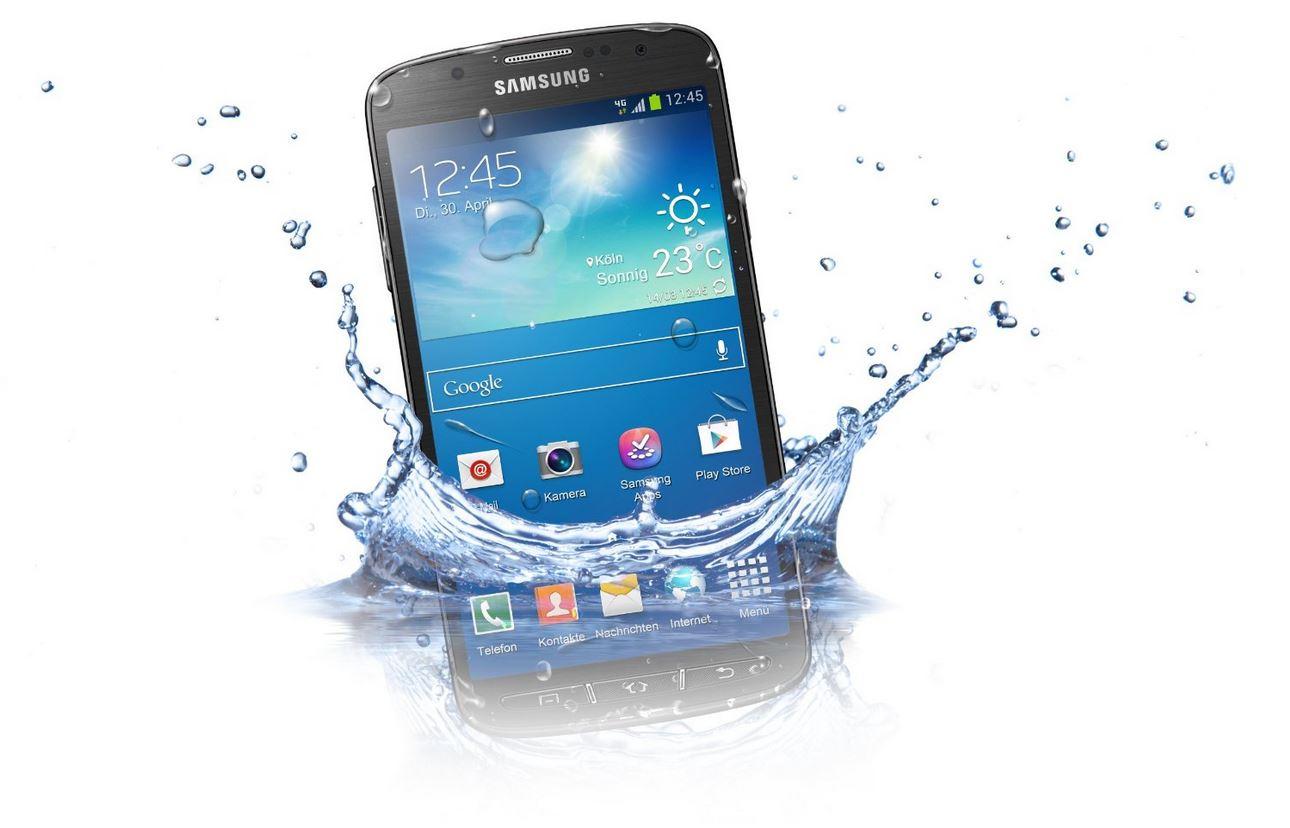 Kommende Premium-Smartphones von Samsung sollen wasserfest werden
