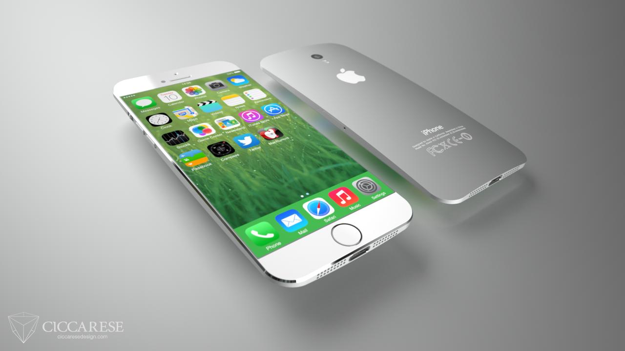 Konzept zu einem iPhone 6