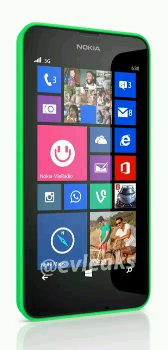 """Kommt mit dem """"Nokia Lumia 630"""" das erste Windows Phone Gerät mit On-Screen-Tasten ?"""