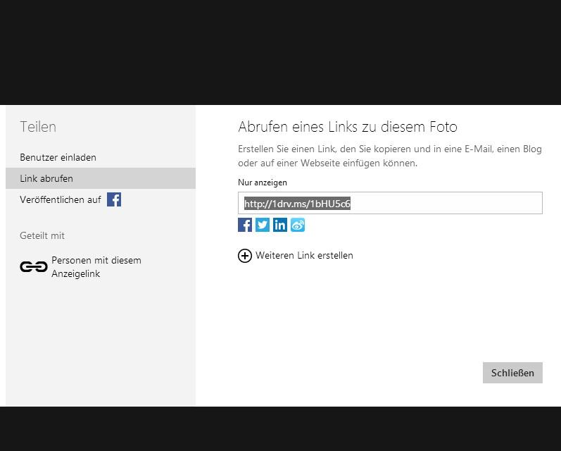 SkyDrive -OneDrive- ändert die Kurz URL Adresse