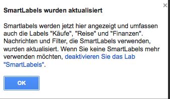 [Kurzinfo] Gmail mit weiteren Smart-Lables für den Posteingang