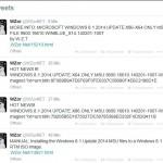 Leak und Bilder: MICROSOFT WINDOWS 8.1 2014 UPDATE als MSU für x32 und x64 durchgesickert