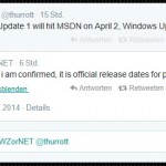 Windows 8.1 Update 1 Termin steht nun fest