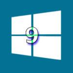 Wzor mit ersten Einzelheiten zur Windows 9